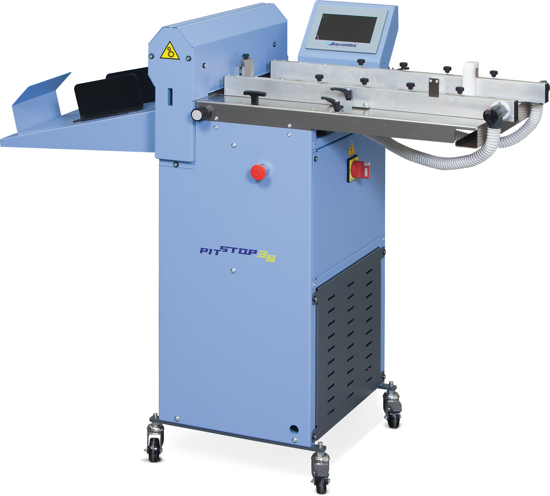 perforating creasing machine pit stop 36